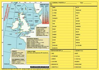 Shipping Forecast Areas image