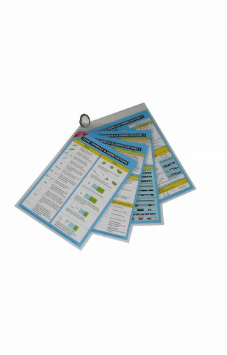 Product image showing Chart symbols and Abbreviations Cockpit Card set